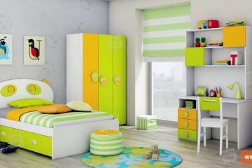 Jarná úprava detskej izby