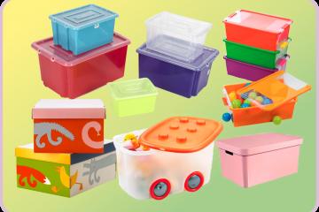 Úložné priestory a boxy s nápadom do detskej izby.