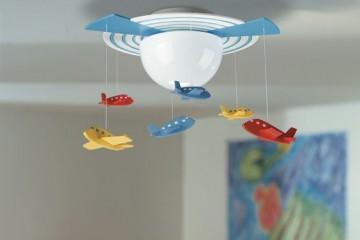 Ako správne vybrať osvetlenie do detskej izby?